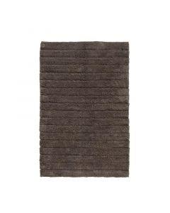 Seahorse  badmat Board, streep,  Antraciet grijs  zware kwaliteit 100% katoen