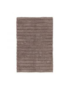 Seahorse  badmat Board Taupe, streep, cement  zware kwaliteit 100% katoen