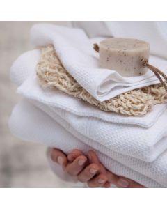 Seahorse Badgoed Balance kleur wit  zachte dikke badstof, diverse maten, 100% katoen